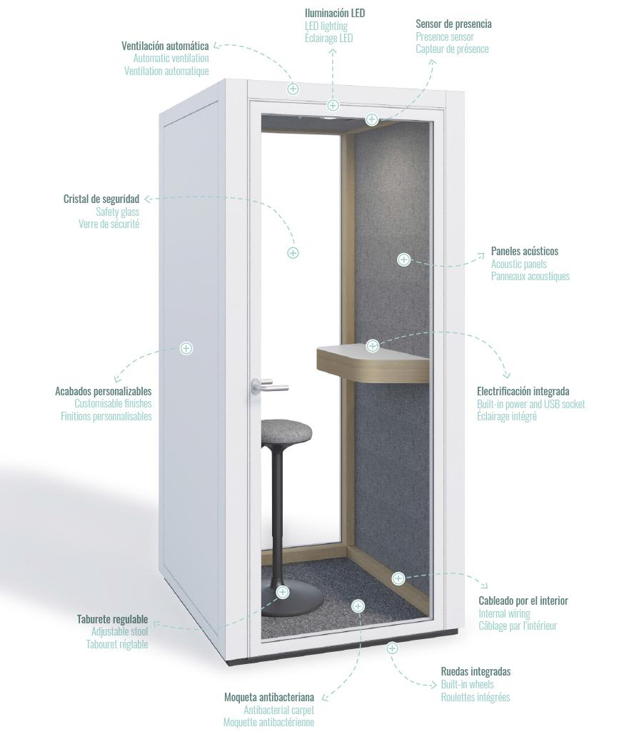 Sala EVA phonebooth